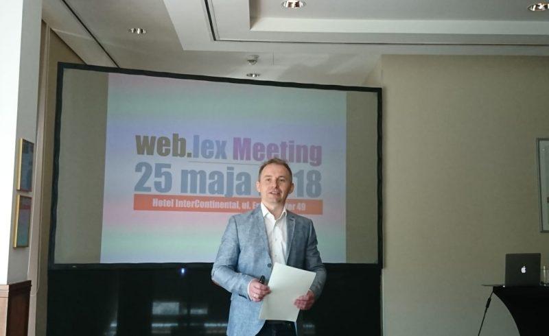 Konferencje prawnicze w 2019 roku Weblex.