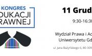 I Kongres Edukacji Prawnej to pierwsze ogólnopolskie forum wymiany poglądów pomiędzy środowiskiem prawniczym a pedagogicznym w celu znalezienia najlepszych rozwiązań formalnych i merytorycznych dla udoskonalenia nauczania elementów prawa w systemie edukacji.